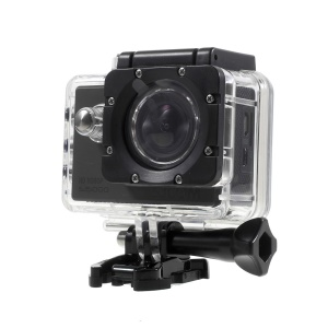 SJCAM OEM SJ5000 2.0'' 14MP 1080P FHD 170° Wide Angle Lens Waterproof Sports Camera - Black
