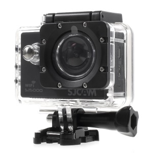 SJCAM OEM SJ5000 WiFi 2.0'' 14MP 1080P FHD 170° Wide Angle Lens Waterproof Sports Camera - Black