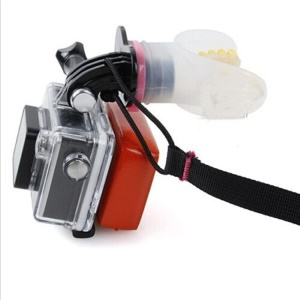 Surfing Shooting Mouth Mount Set for GoPro Hero 4/3+/3/2/1 SJ4000/SJ5000/SJ6000 Xiaomi Yi