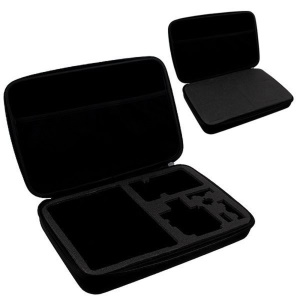 GoPro Large Size Travel Carry Storage Bag Kit Tool Case for GoPro HERO 4 3 2 1 - Black