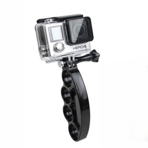 Knuckles Handheld Selfie Holder Mount + Screw for GoPro HERO 4/3+/3/2/1/SJ4000/SJ5000/SJ6000/Xiaomi Yi