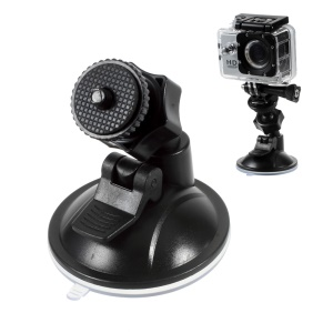 Suction Cup Car Windshield Mount for GoPro Hero 4 Session/4/3+/3/2/1 SJCMA SJ5000+/5000 WiFi/5000/4000+/4000 WiFi/4000/3000/2000/1000/M10 WiFi/M10 Xiaomi Yi
