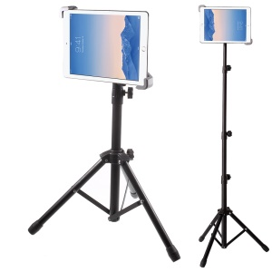 Adjustable Floor Tablets Tripod Stand Mount Holder for iPad/iPad Mini/Samsung Galaxy Tab, within 7-14 Inch