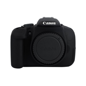 Silicone Protective Camera Body Casing Cover for Canon 600D/650/700D - Black
