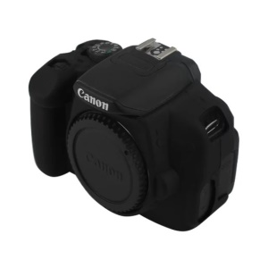 Soft Silicone Protective Case for Canon EOS 600D/650D/700D - Black