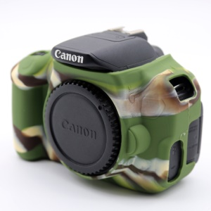 Soft Silicone Protective Shell for Canon EOS 600D/650D/700D - Camouflage