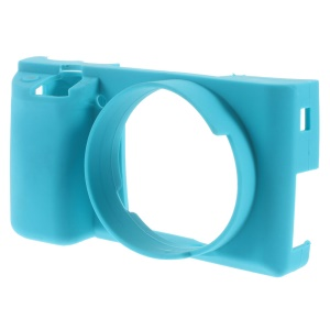 Silicone Protective Case for Sony Alpha A6000 Camera - Blue