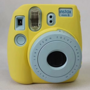 Silicone Soft Protective Cover for FUJIFILM Instax Mini 8 - Yellow