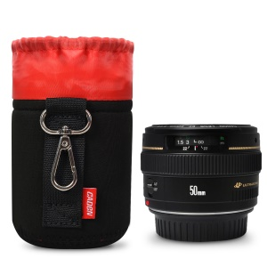 CADEN Thick Neoprene Camera Lens Protective Pouch - Size: S