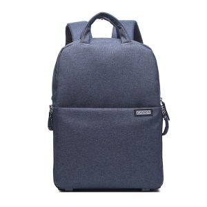 "CADEN L5 Waterproof Nylon Camera Bag Notebook Backpack for DSLR Camera and 14"" Notebook - Dark Grey"