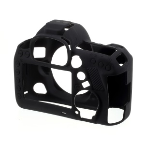 Silicone Protective Camera Body Case Cover for Canon 5D4 - Black