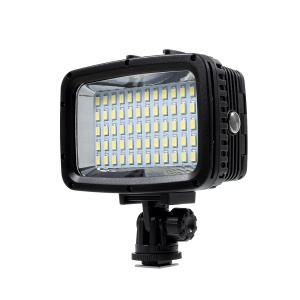 60-LED Underwater 40m 1800LM Diving Lamp Waterproof LED Video Light Lamp for GoPro
