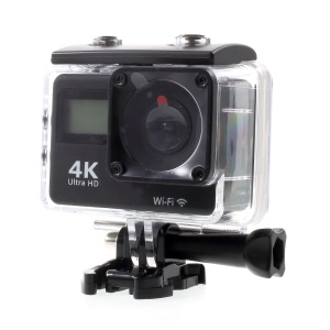 K2TD Double Screen WiFi Mini Camera Waterproof 4K Ultra HD Action Camera Outdoor DV Sports Camera