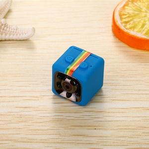 SQ11 1080P Super Mini IR DV Camera Motion Detection Security Camera - Blue
