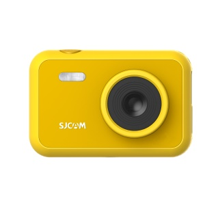 SJCAM Kids 1080P Colorful Action Camera Video Recording Photo Shooting Recorder - Yellow