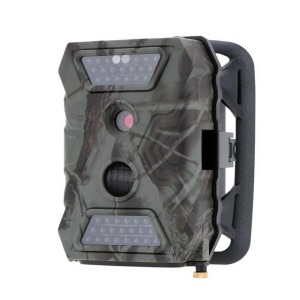 S680 12 Million Pixel 1080P Video Display Outdoor Scouting Trail Camera - Army Green