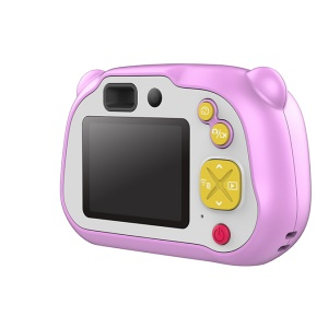 X200 1080P Portable Digital Video Kids Camera 2 Inch LCD Screen Display - Pink