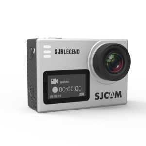SJCAM SJ6 LEGENDE 4k Wifi Action Kamera Sport Video Kamera Kreiselstabilisierung 2,0 Zoll Touchscreen - Silberfarbe
