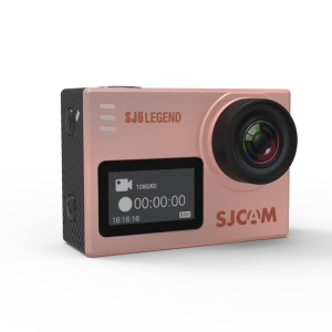 SJCAM SJ6 LEGEND 166 Degree FOV Gyro Sensor 4K WiFi 2.0 inch LTPS Display Sports Camera - Rose Gold Color