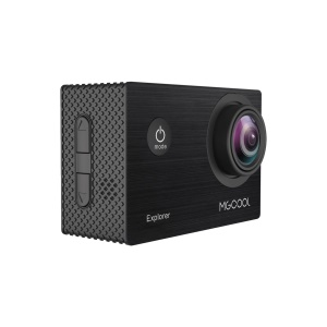MGCOOL Explorer 4K Outdoor Action Camera with 170 Degree Wide Angle Lens 2 Inch Screen - Black
