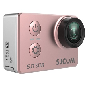 "SJCAM OEM SJ7 STAR Sports Camera WiFi 4K 2.0"" Touch Screen 166 Degree FOV Lens 12MP - Rose Gold Color"