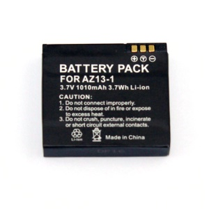 Replacement 3.7V 1010mAh Li-ion Battery for Xiaomi Yi Sports Action Camera