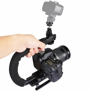 PULUZ PU3006 C-Shaped Video Handle DV Bracket Steadicam Stabilizer Kit