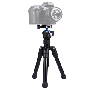 PULUZ PU3001 Mini Microspur Photos Magnesium Alloy Tripod Mount for DSLR and Digital Cameras - Black
