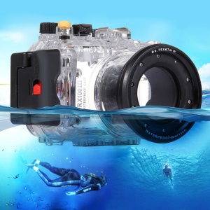 PULUZ Pu7005 for Sony RX100 III 40m Underwater Camera Waterproof Housing Diving Case - Transparent