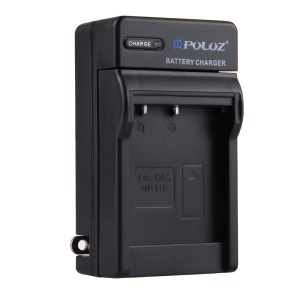 PULUZ PU2150 Portable Travel Charger Battery Charger for CASIO NP-110 Battery - US Plug