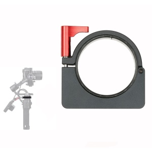 "Aluminum Alloy Extension Ring Clamp Mount Adapter with 1/4"" and 3/8"" Screws for DJI Ronin-S Stabilizer"