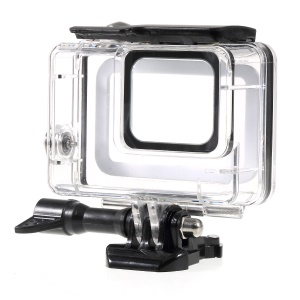 Waterproof Housing Protection Case Shell for GoPro Hero 7 White / Silver