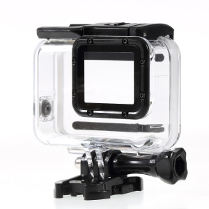 Waterproof Housing Case with Touchable Back Door for GoPro Hero 7 White / Silver