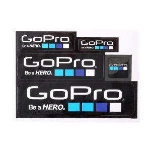 5Pcs/Set for GoPro Hero Camera Adhesive Decals Stickers Accessory Set
