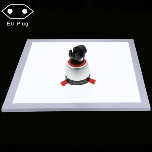 PULUZ PU5138 1200LM LED Fotografia Shadowless Fundo Da Lâmpada De Luz Do Painel Para 40 Cm Photo Studio Tenda Caixa Sem Polar Escurecimento - Plugue UE