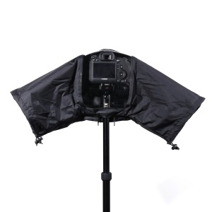 Rain Cover Coat Protector Case for Nikon Canon DSLR Cameras