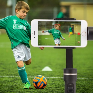 FEIYUTECH SPG C 3-Axis Handheld Smartphone Gimbal Stabilizer for iPhone/ Xiaomi /Samsung S7 Zoom Button Selfie Stick - Black