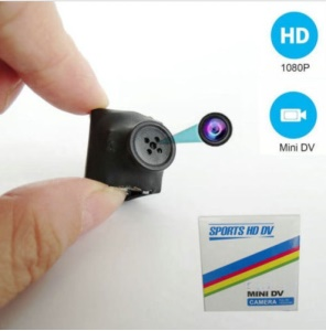 SQ11 HD 1080P Camera Camcorder Hidden Video Recorder Spy Cam DVR Tiny Button DV - Black
