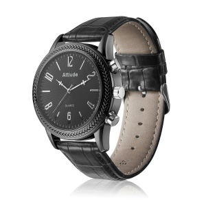 C5 2 in 1 1080P Watch and Hidden Web Camera with Night Vision Function - Black