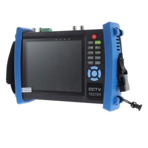TVC-T360S 7 inch HD-SDI Composite CCTV Monitor Tester w/ Power Out - UK Plug