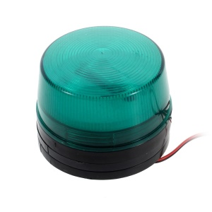 Green Security Strobe Light Flashing Light Emergency Security Alarm for Surveillance Systems