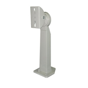 601 30cm Aluminum Alloy Adjustable Bracket for CCTV Surveillance Camera - White