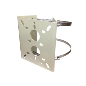 Metal Pole Mounting Bracket for CCTV Security Camera