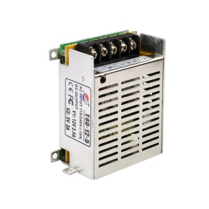 T40-12-5 12V/2.5A, 5V/2A Switching Power Supply for LED Light and CCTV Security Camera (110-220V)
