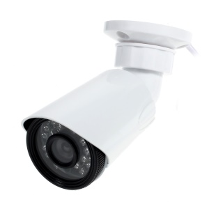 CCTV AHD 720P 1.0MP Outdoor IR Camera 24-LED IR 20m with Bracket IR-CUT (AHD-X5100C) - 3.6mm Lens / PAL