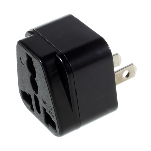 Universal UK / EU / AU à US Adapter Power Socket Converter