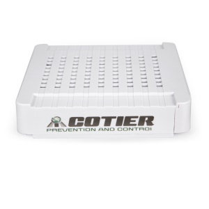 COTIER 8CH 1080P/960P/720P 1HDD Mini NVR Support P2P Onvif HDMI (N8-Mini/L) - White / EU Plug