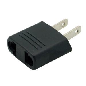 EU Europe to US Plug Power Adapter