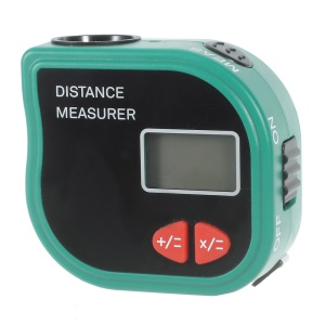 CP-3001 Handheld Ultrasonic Distance Measurer Level Range Finder with Tape