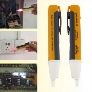 1AC-D LED Light AC Electric Voltage Tester Volt Alert Pen Detector Sensor 90~1000V